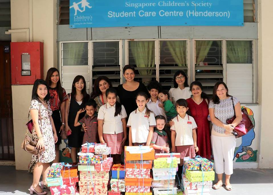 14 Dec Box of Joy gift distribution at SCScr