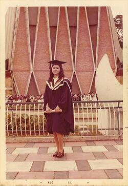 EtonHouse Founder Mrs Ng Gim Choo, 1973 Graduation.jpg