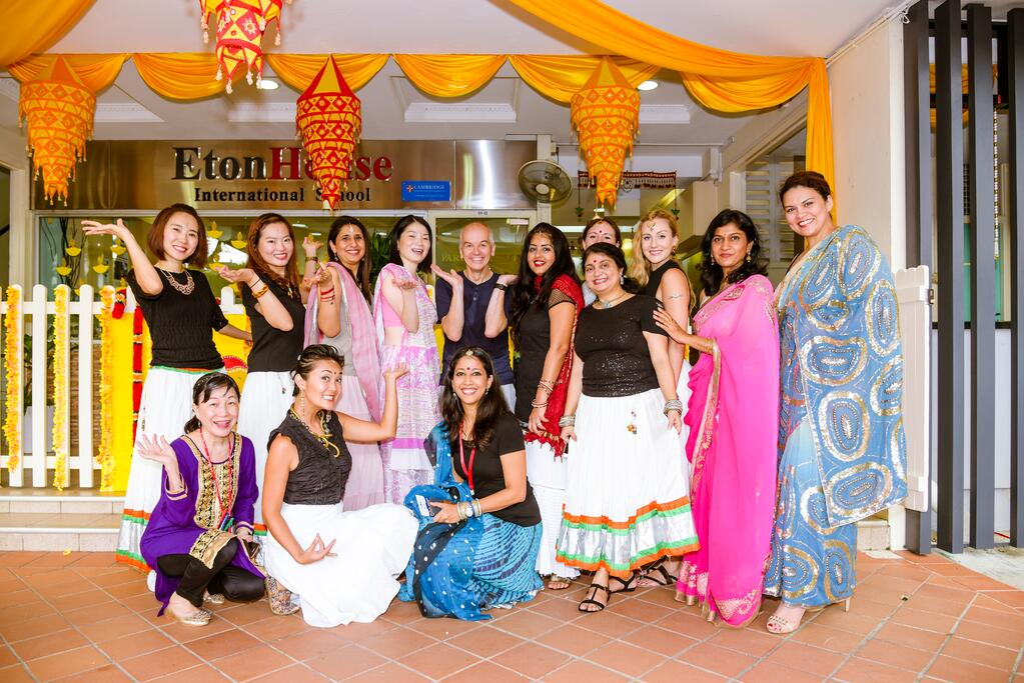 EtonHouse International School Broadrick - Martin Hughes & staff
