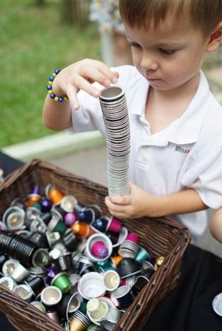 EtonHouse Blog - Use everyday objects as inspiration.