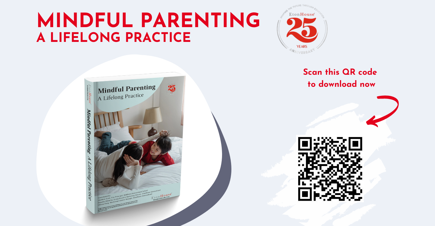 Our Latest Parenting Ebook: Mindful Parenting A Lifelong Practice