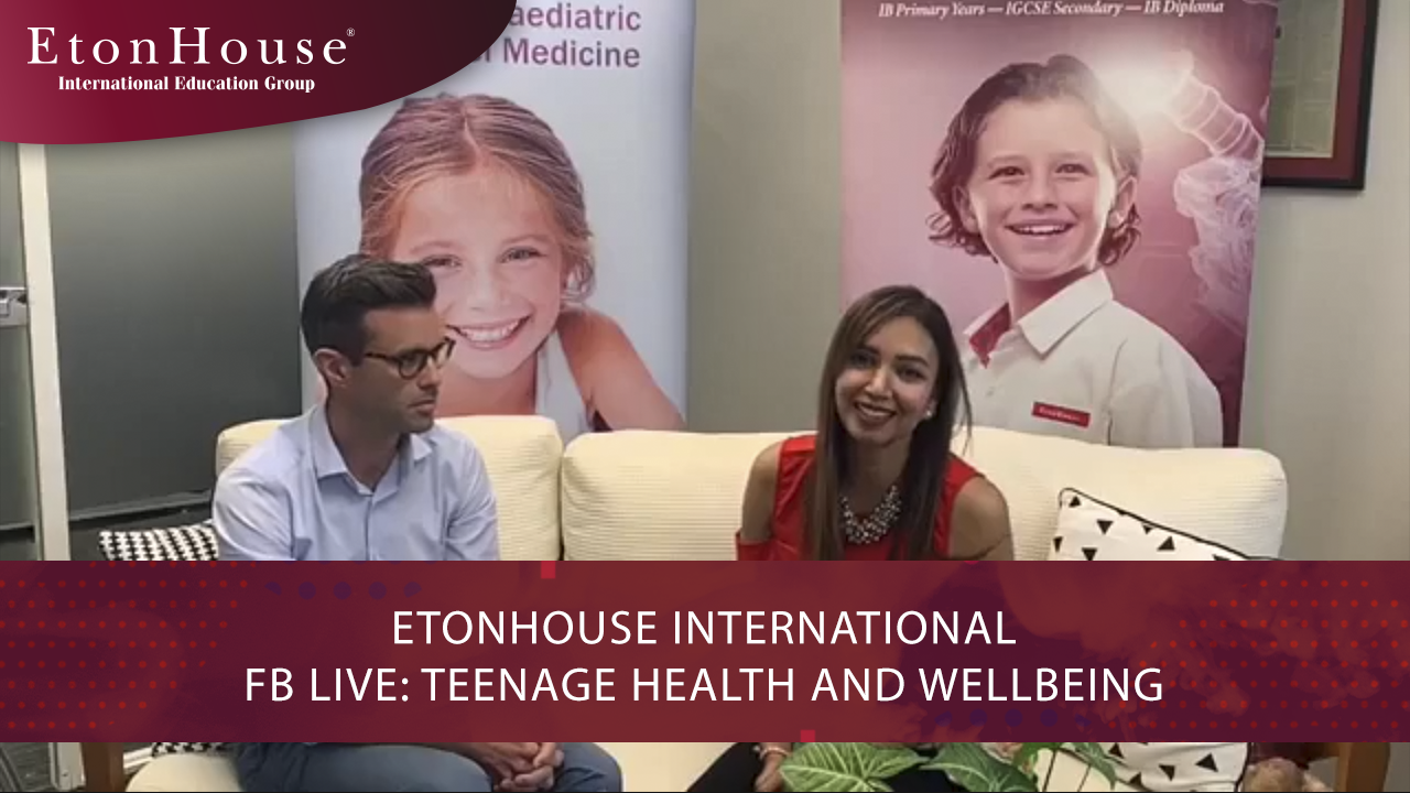 Facebook Live with Dr. Neil Forrest: Teenage Health and Wellbeing
